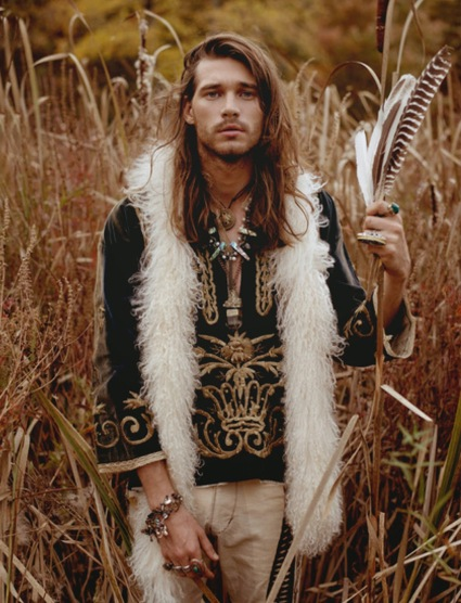 _Leonid Gurevich_Raen Badua__Heart of Gold__Menswear_long hair_DEGEN_fur)adrienne landau_fashion_hippie_bohemian_brands_music_guys_Eric Vosburg_winter_summer_spring_styling_editorial_mal